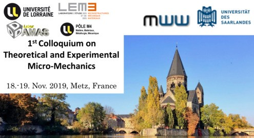 1st Colloquium on Theoretical and Experimental Micro-Mechanics